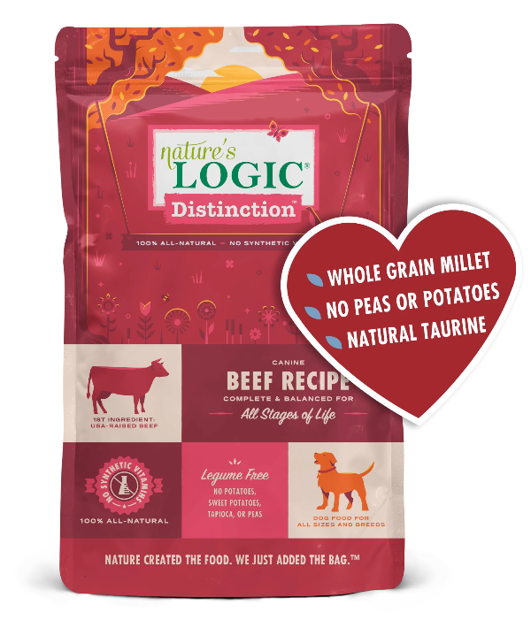 Nature's Logic Distinction Beef Dry Kibble Dog Food