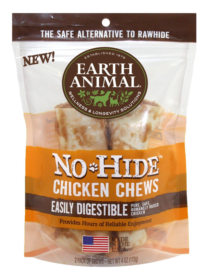 Earth Animal No-Hide Chicken Chews Dog Treats-Le Pup Pet Supplies and Grooming