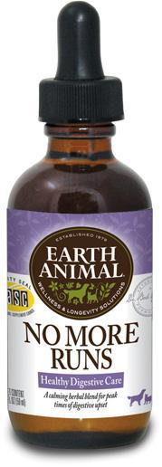 Earth Animal No More Runs Digestive Health for Dogs and Cats, 2Fl oz.-Le Pup Pet Supplies and Grooming