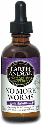Earth Animal No More Worms Digestive Health for Dogs and Cats, 2Fl oz.-Le Pup Pet Supplies and Grooming