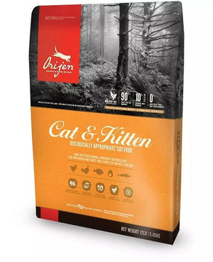 Orijen Cat & Kitten Grain-Free Dry Cat Food-Le Pup Pet Supplies and Grooming