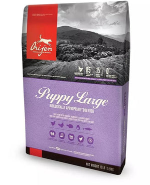 Orijen Puppy Large Breed Chicken Turkey & Fish Grain-Free Dry Dog Food-Le Pup Pet Supplies and Grooming
