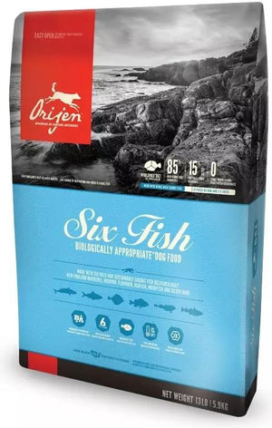Orijen Six Fish Grain-Free Dry Dog Food-Le Pup Pet Supplies and Grooming