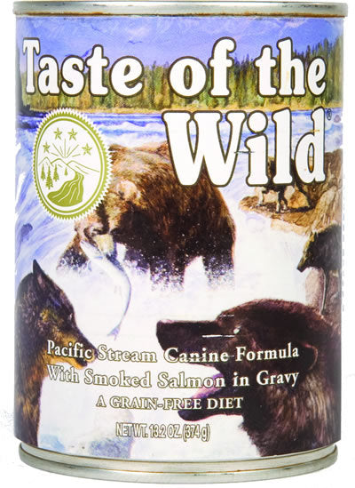 Taste of the Wild Pacific Stream Grain Free Wet Dog Food-Le Pup Pet Supplies and Grooming