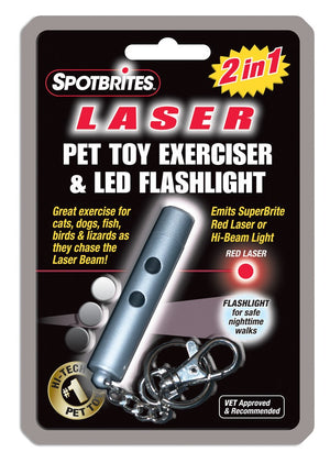 Spot Pet Laser Original 2 in 1 Cat Toy-Le Pup Pet Supplies and Grooming