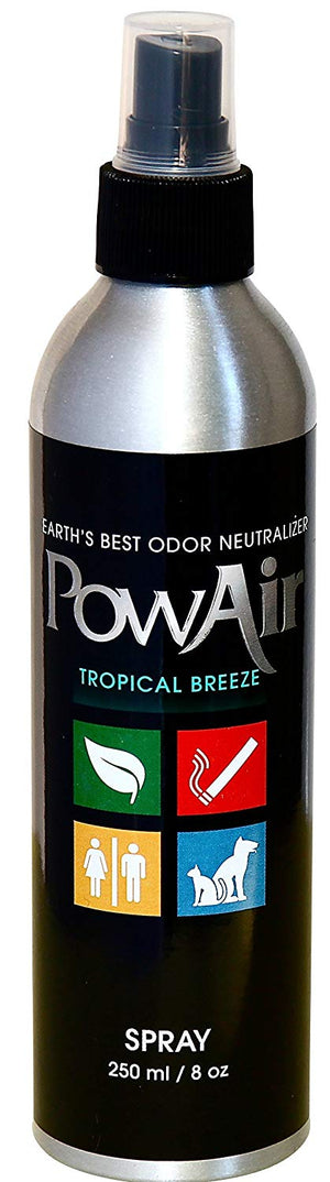 PowAir Tropical Breeze Odor Neutralizer Spray 8oz. Dog Supply-Le Pup Pet Supplies and Grooming