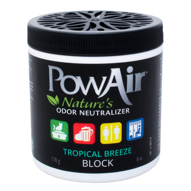 PowAir Tropical Breeze Odor Neutralizer Block 6oz. Dog Supply-Le Pup Pet Supplies and Grooming