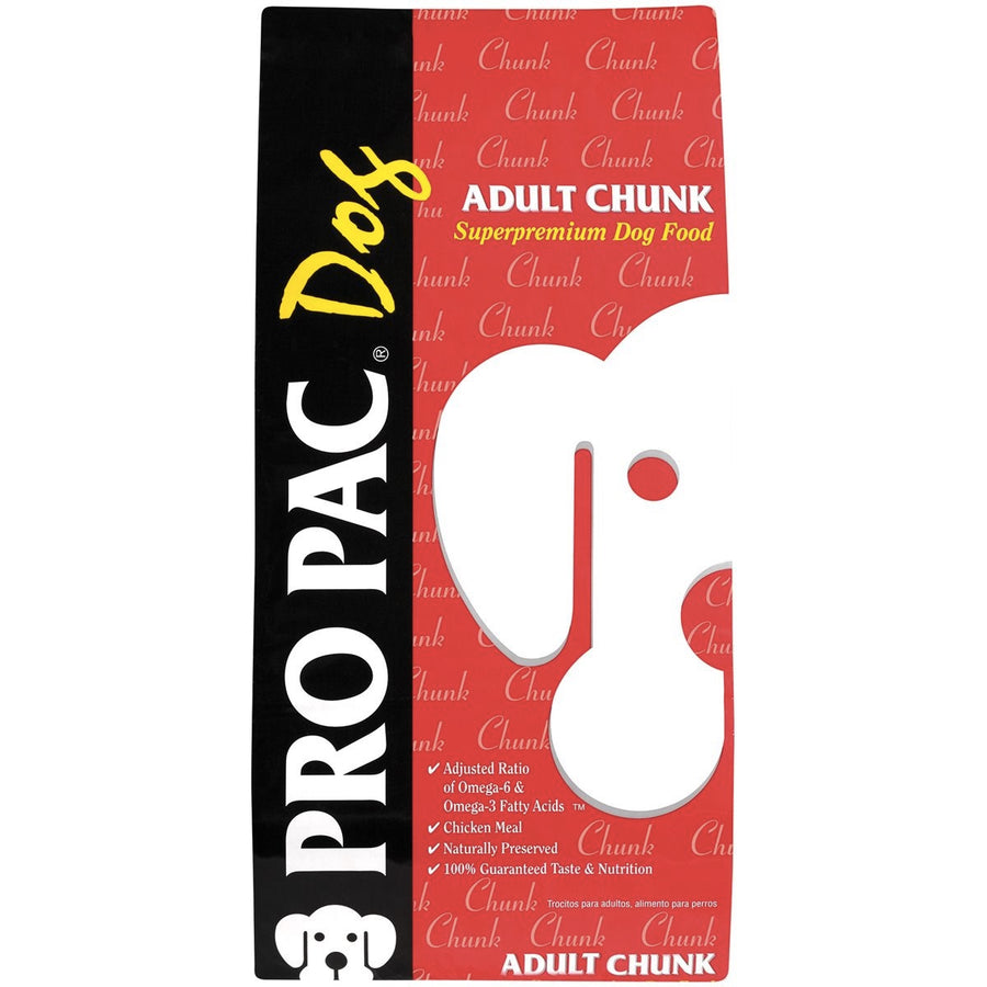 Pro Pac Ultimates Superpremium Adult Chunk & Mini Chunk Dry Dog Food