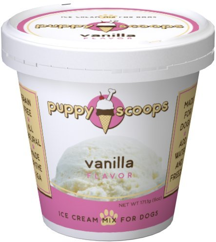 Puppy Cake Puppy Scoops Ice Cream Mix - Vanilla Grain-Free Dog Treat, 5.25oz.-Le Pup Pet Supplies and Grooming