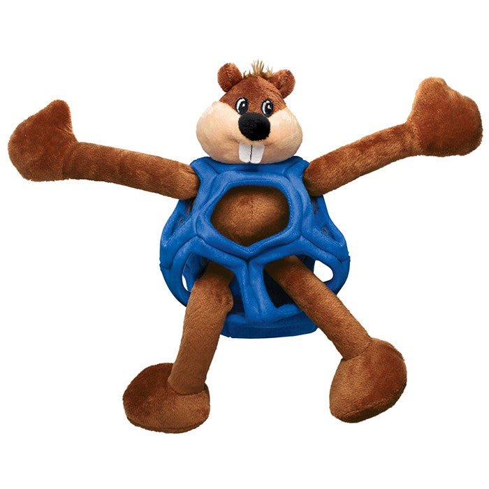 Kong Puzzlements Beaver Dog Toy-Le Pup Pet Supplies and Grooming
