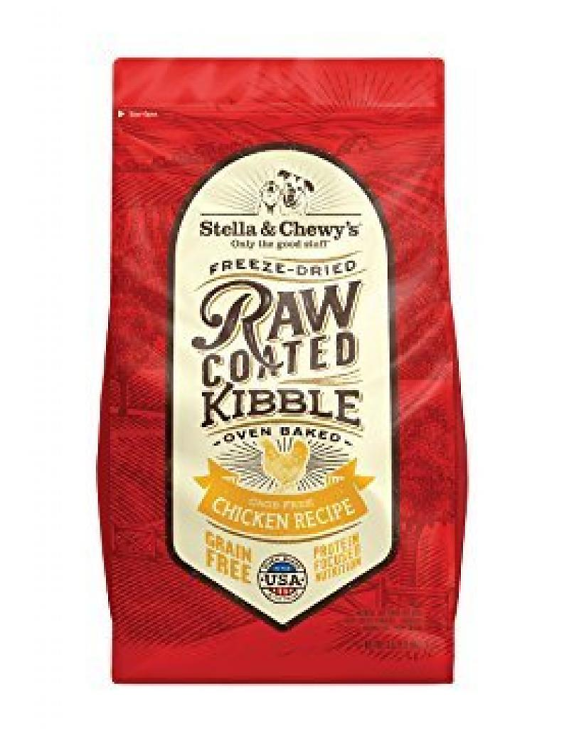 Stella & Chewy's Cage-Free Chicken Grain-Free Freeze-Dried Raw Coated Baked Kibble Dog Food-Le Pup Pet Supplies and Grooming