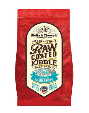 Stella & Chewy's Grass-Fed Lamb Grain-Free Freeze-Dried Raw Coated Baked Kibble Dog Food-Le Pup Pet Supplies and Grooming