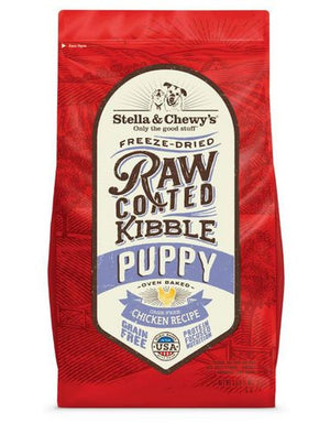 Stella & Chewy's Puppy Cage-Free Chicken Grain-Free Freeze-Dried Raw Coated Baked Kibble Dog Food-Le Pup Pet Supplies and Grooming