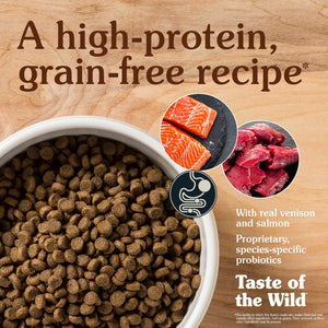 Taste of the Wild Rocky Mountain Feline Recipe with Venison and Smoked Salmon Dry Cat Food