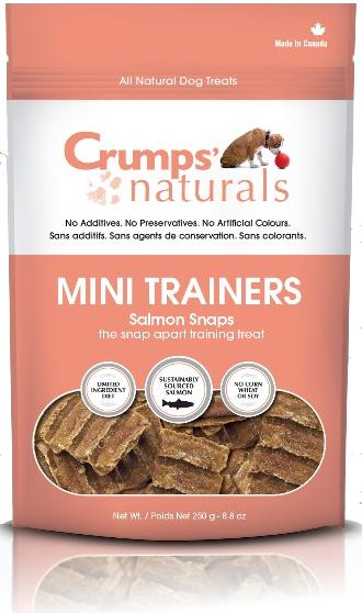 Crumps' Naturals Salmon Snaps Dog Treat-Le Pup Pet Supplies and Grooming