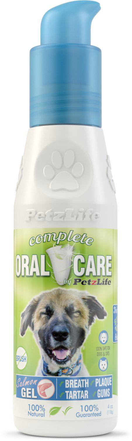 PetzLife Oral Care Gel with Wild Salmon Oil Dog Supply-Le Pup Pet Supplies and Grooming