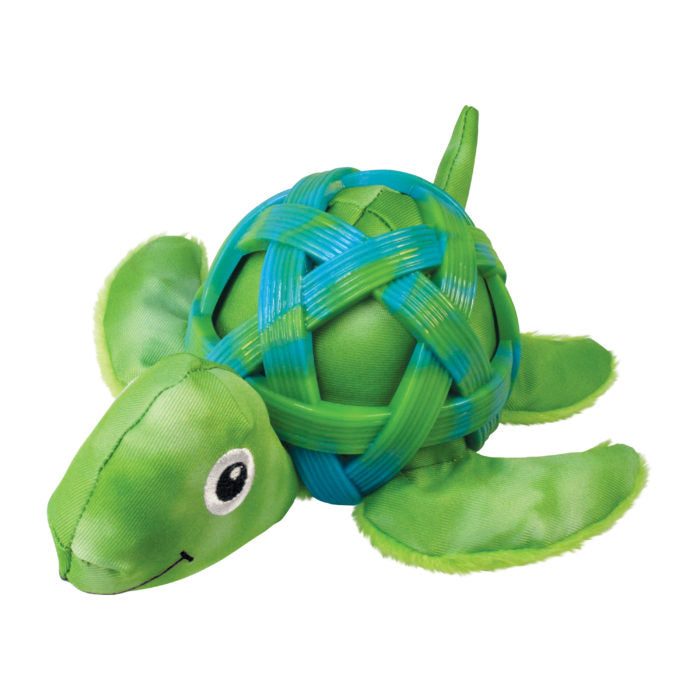 Kong Sea Shells Turtle Dog Toy-Le Pup Pet Supplies and Grooming