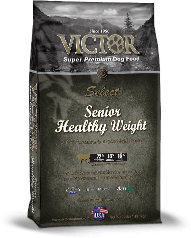 Victor Senior Healthy Weight Dry Dog Food-Le Pup Pet Supplies and Grooming