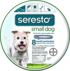 Bayer Seresto Collar Fleas, Ticks & Lice Protection for Small Dogs and Puppies-Le Pup Pet Supplies and Grooming