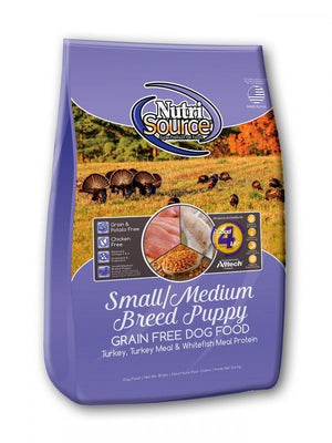 NutriSource Small and Medium Breed Puppy Grain-Free Dry Dog Food-Le Pup Pet Supplies and Grooming