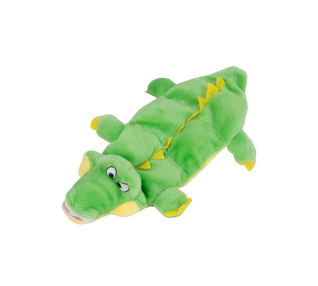 Outward Hound Squeaker Matz Mini Gator Dog Toy-Le Pup Pet Supplies and Grooming