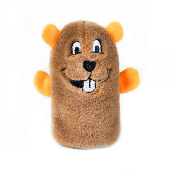 ZippyPaws Squeakie Buddie Beaver Dog Toy-Le Pup Pet Supplies and Grooming