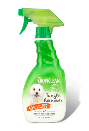 TropiClean Tangle Remover for Dogs and Cats, 16FLoz.-Le Pup Pet Supplies and Grooming