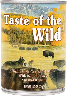 Taste of the Wild High Prairie Grain Free Wet Dog Food-Le Pup Pet Supplies and Grooming