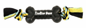 Mammoth TireBiter Bone with Rope Chew Dog Toy-Le Pup Pet Supplies and Grooming