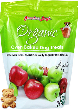 Grandma Lucy's Organic Apple Oven Baked Dog Treats, 14oz.-Le Pup Pet Supplies and Grooming