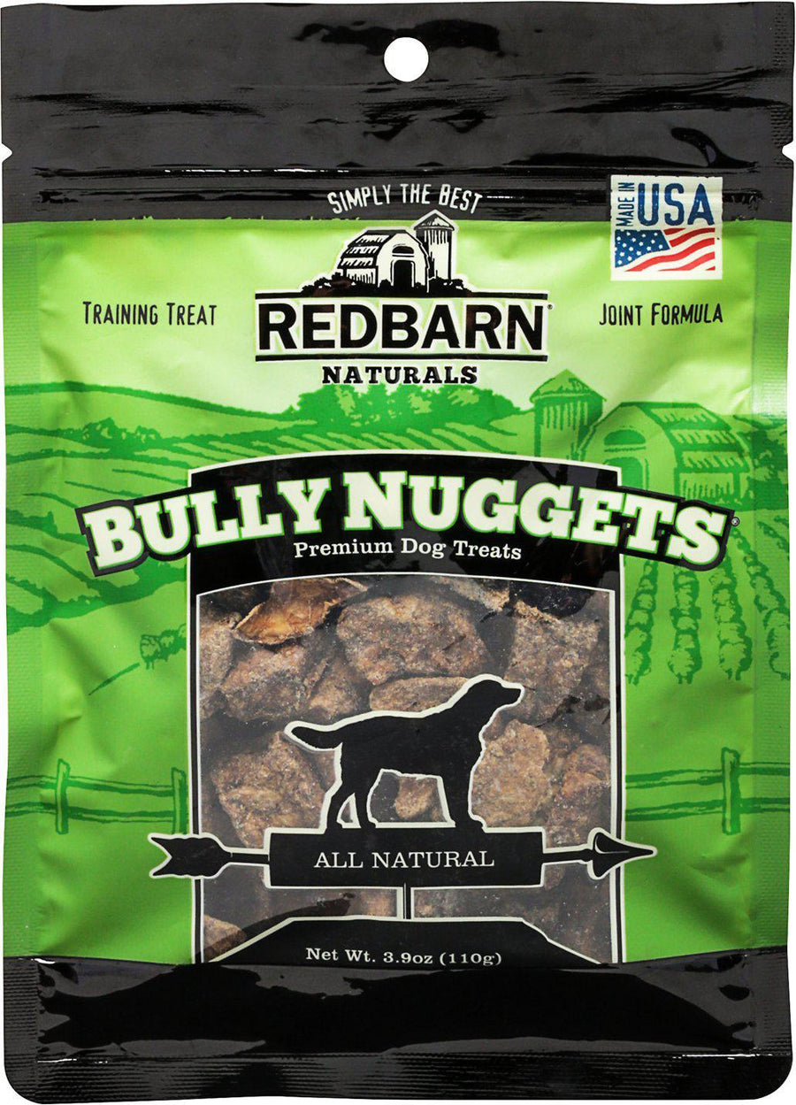 Redbarn Naturals Bully Nuggets Grain-Free Dog Treats, 3.9oz.-Le Pup Pet Supplies and Grooming
