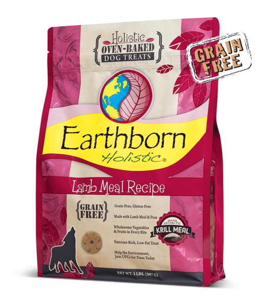 Earthborn Lamb Meal Recipe Grain-Free Oven Baked Biscuits Dog Treats-Le Pup Pet Supplies and Grooming