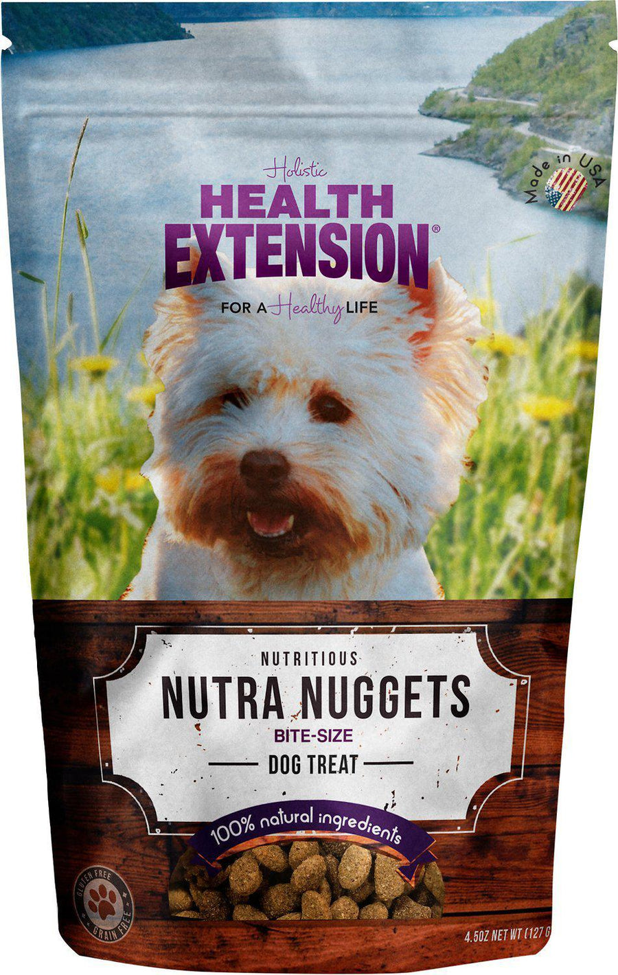 Health Extension Holistic Nutra Nuggets Grain-Free Dog Treats-Le Pup Pet Supplies and Grooming