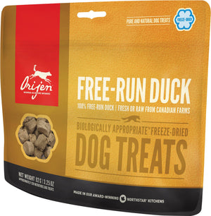 Orijen Free-Run Duck Freeze-Dried Dog Treats-Le Pup Pet Supplies and Grooming
