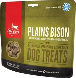 Orijen Plains Bison Freeze-Dried Dog Treats-Le Pup Pet Supplies and Grooming