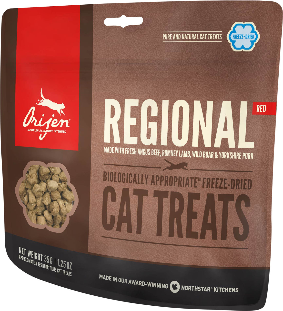 Orijen Regional Red Freeze-Dried Grain-Free Cat Treats-Le Pup Pet Supplies and Grooming