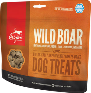 Orijen Wild Boar Freeze-Dried Dog Treats-Le Pup Pet Supplies and Grooming