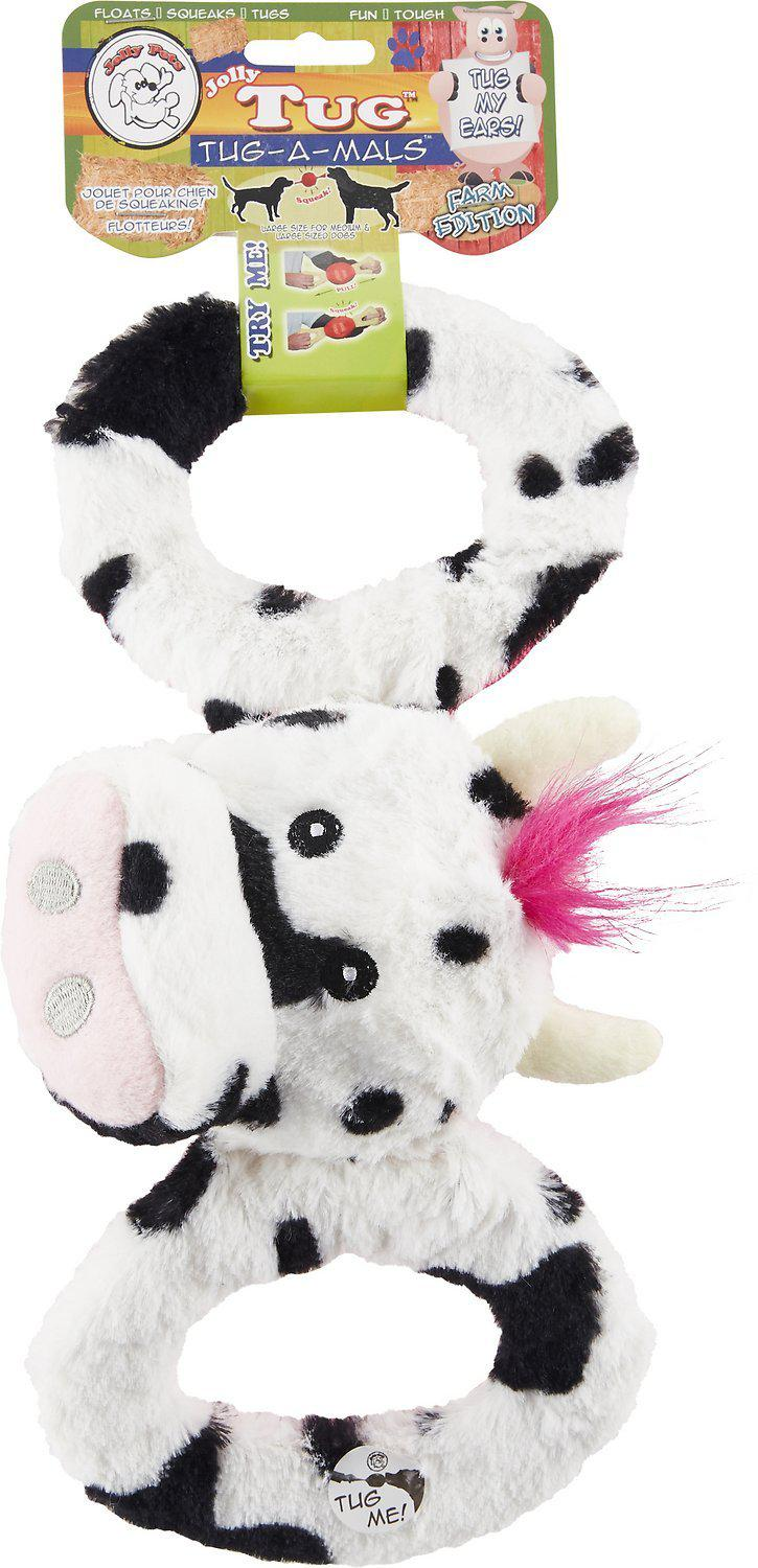 Jolly Pets Tug-a-Mal Cow Dog Toy-Le Pup Pet Supplies and Grooming