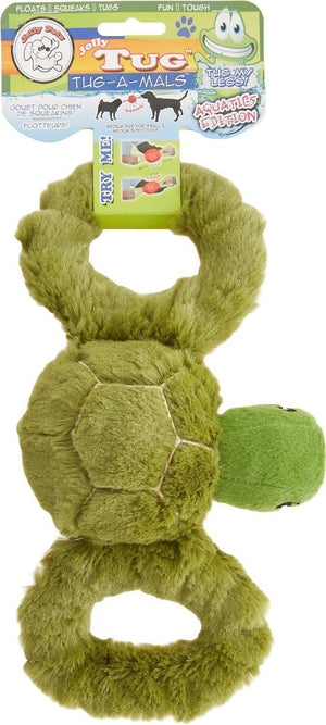 Jolly Pets Tug-a-Mal Turtle Dog Toy-Le Pup Pet Supplies and Grooming