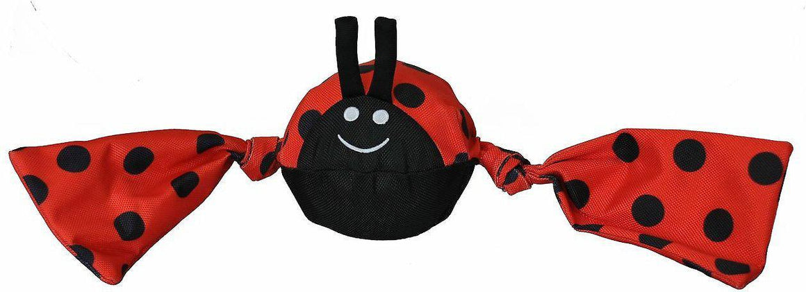 Jolly Pets Tug Insects Lady Bug Dog Toy-Le Pup Pet Supplies and Grooming