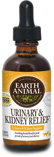 Earth Animal Urinary & Kidney Relief (Pee Pee Formula) Urinary Tract Health for Dogs and Cats, 2Fl oz.-Le Pup Pet Supplies and Grooming