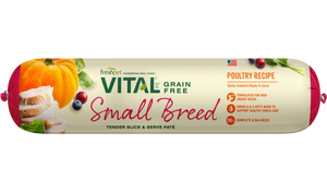 Freshpet Vital Grain Free Small Breed Poultry Recipe Dog Food