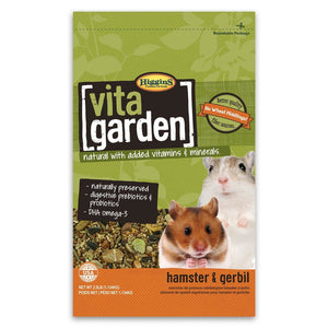 Higgins Vita Garden Hamster and Gerbil Food-Le Pup Pet Supplies and Grooming