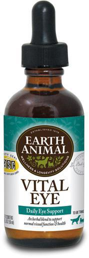 Earth Animal Vital Eye Health for Dogs and Cats, 2Fl oz.-Le Pup Pet Supplies and Grooming