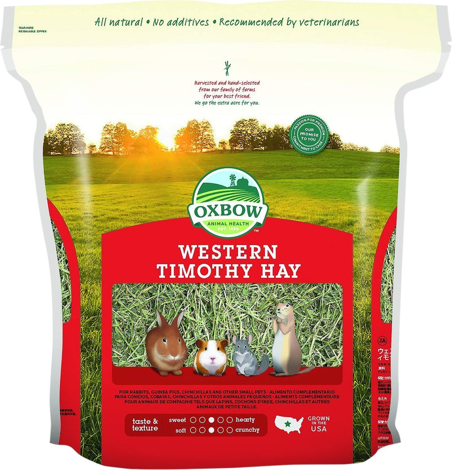 Oxbow Western Timothy Hay Small Animal Food-Le Pup Pet Supplies and Grooming