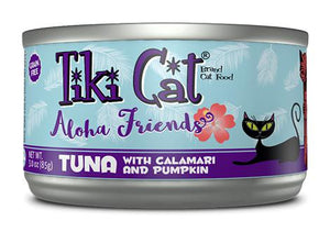 Tiki Cat Aloha Friends Tuna with Calamari and Pumpkin Grain-Free Wet Cat Food-Le Pup Pet Supplies and Grooming