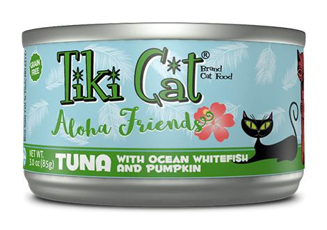 Tiki Cat Aloha Friends Tuna with Ocean Whitefish and Pumpkin Grain-Free Wet Cat Food-Le Pup Pet Supplies and Grooming