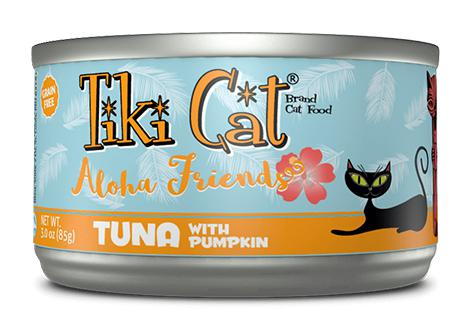 Tiki Cat Aloha Friends Tuna with Pumpkin Grain-Free Wet Cat Food-Le Pup Pet Supplies and Grooming