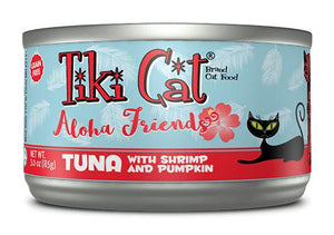 Tiki Cat Aloha Friends Tuna with Shrimp and Pumpkin Grain-Free Wet Cat Food-Le Pup Pet Supplies and Grooming