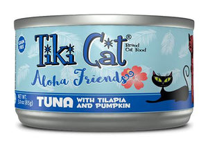 Tiki Cat Aloha Friends Tuna with Tilapia and Pumpkin Grain-Free Wet Cat Food-Le Pup Pet Supplies and Grooming